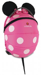 Plecak LittleLife Disney Kids Pink Minnie