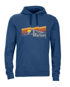 Marmot SUNSETTER HOODY VINTAGE NAVY HEATHER L