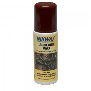 Impregnat AQUEOUS WAX BRĄZOWY 125ml - Gąbka