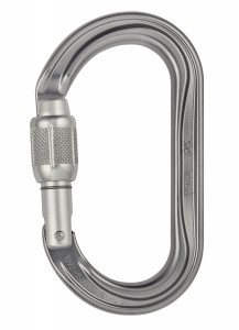 Karabinek PETZL OK Screw Lock M33A SL