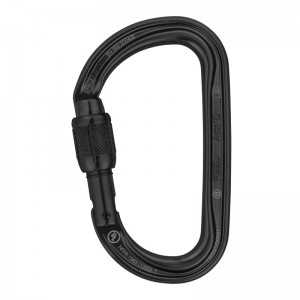 Karabinek PETZL Am'D Screw Lock czarny M34A SLN