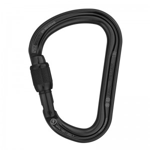 Karabinek PETZL William Screw-Lock (czarny) M36A SLN
