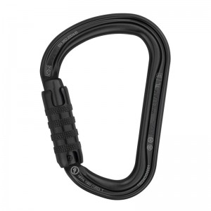 Karabinek PETZL William Triact Lock (czarny) M36A TLN