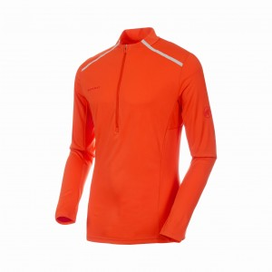 KOSZULKA MAMMUT ATACAZO LIGHT ZIP T-SHIRT ME