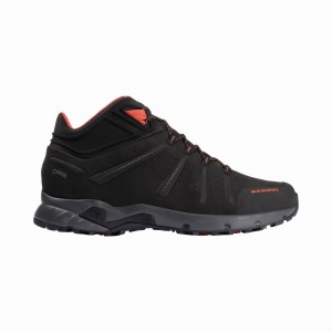 Buty MAMMUT Convey Mid GORE-TEX® Men Black-Pepper
