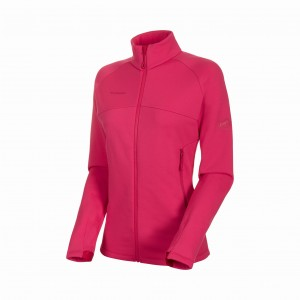 BLUZA POLAR ACONCAGUA ML JACKET WOMEN dragon fruit