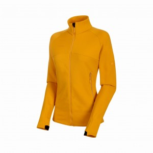 BLUZA POLAR ACONCAGUA ML JACKET WOMEN golden