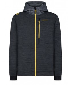 Bluza LaSportiva Training Day Hoody M black yellow