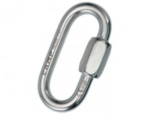 Karabinek 5mm Quick Link INOX oval CAMP