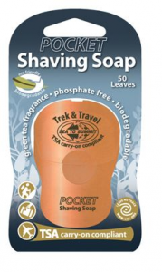 STS Pocket Shaving Cream - Krem do golenia w listkach