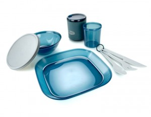 Naczynia/ INFINITY 1 PERSON TABLESET BLUE GSI OUTDOORS