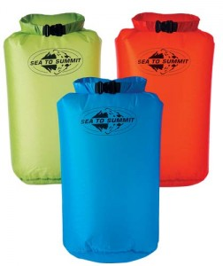 STS Lightweight Dry Sack 1L yellow